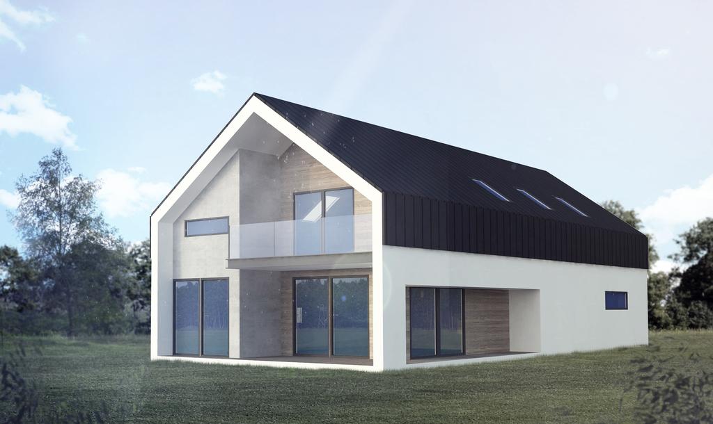 Czy projekty domów na wąską działkę są praktyczne?